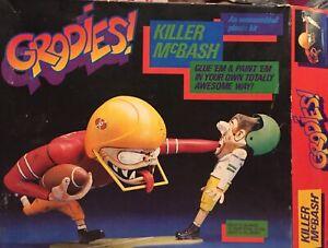 Grodies Killer McBash model kit Testors 1983 Parts Sealed