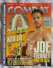 COMBAT MAGAZINE NOV 1996 MARTIAL ARTS JACKIE CHAN KEN LO **MULTI-BUY DISCOUNT**