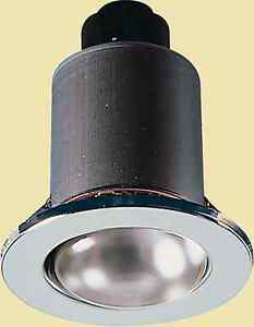LED R80 FIXED CHROME DOWNLIGHT MAINS VOLTAGE OLD STYLE SPOT LIGHT