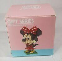 NEW Disney Minnie Mouse Nanoblock Building Block Set Puzzle Hobby Girls Toy