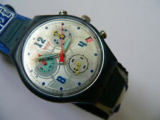 1998 Swatch watch Chrono chronograph Goooal England SCZ401EN