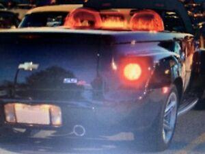 Chevrolet SSR Laser-Etched,Lit TEMPERED-GLASS ,Windblade,Windsupprssr, Deflector