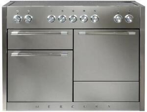 "AGA Mercury 48"" 5 Heating Elements Electric Induction Range AMC48INSS Stainless"