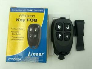 NEW Linear Wireless Key FOB Remote ITIFOB01 4 Button With Clip Compatible W/ GE