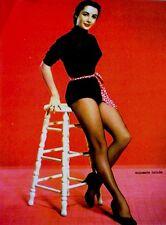Pinup Lithograph Elizabeth Taylor 1952 VTG Carpenter Original Litho Promo Photo