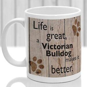 Victorian Bulldog dog mug, Victorian Bulldog gift, ideal present for dog lover