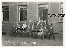 Penig Sachsen 1934 alte Schule ? Gebäude Haus Gruppenfoto