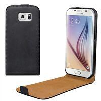 Samsung Galaxy S6 Cover Case für Handy Klapp Tasche Schutz Hülle Schale Etui