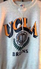 College Apparel Unisex UCLA Trademark & Logo Imprinted Gray Sweatshirt