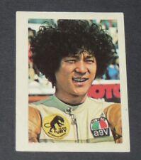 N°258 TAKAZUMI KATAYAMA JAPON NIPPON PILOTE MOTO COURSES 1976 INTERIMAGE PANINI