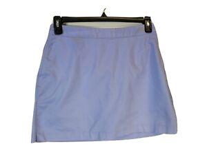 Adidas Sport Women Tennis Golf Skort Skirt Stretch Size 4 Lavender Pockets