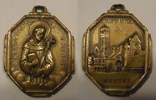 medaglia devozionale S.Francesco Assisi