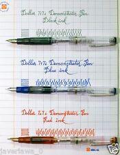 Dollar 717i Transparent demonstrator piston filler Fountain Pen (10 Piece)