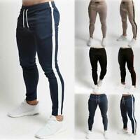 Mens Sport Pants Long Trousers Tracksuit Gym Fitness Sweatpants Workout Joggers