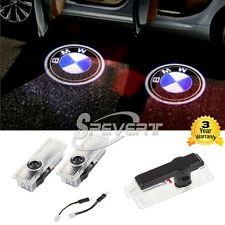 2pcs Car Door Laser Courtesy Projector LED Welcome Logo Light For BMW 3 5 6 7