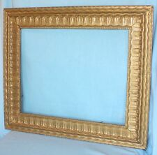 "Ornate Antique PICTURE FRAME ~ LARGE 26"" x 23"" ~ Wood ~ OLD GLASS ~"