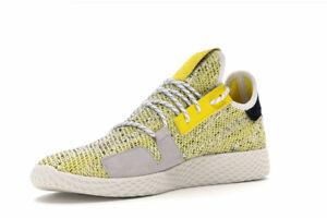 ADIDAS X PHARRELL WILLIAMS Men's Solar HU Tennis V2 Sneakers, Yellow, US 13