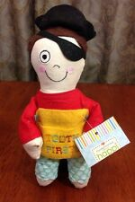 Tooth Fairy Pirate Soft Doll Cupcakes Cartwheels Under Pillow Pocket Plush Gift