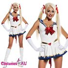 Sailor Moon Costume Cosplay Uniform Fancy Dress Up Sailormoon Outfit & Glove