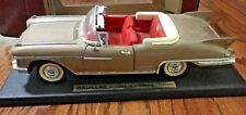 1958 CADILLAC ELDORADO BIARRITZ GOLD Metal Die Cast Car 1/18  ROAD LEGENDS