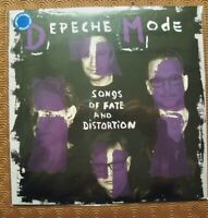 "DEPECHE MODE ""SONGS OF FATE AND DISTORTION"" COLOURED LP VINYL STUDIO REMIXES"