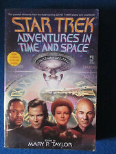 More details for star trek - adventures in time and space - soft cover book - 1999 -mary p taylor