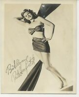 Vintage photo of Rita Hayworth (mailed in 1944)
