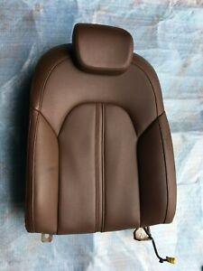 AUDI A8L REAR LEFT  SIDE UPPER SEAT CUSHION W/ HEADREST OEM 4H0885273