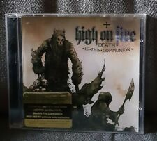 High On Fire - Death is this communion CD - Metal