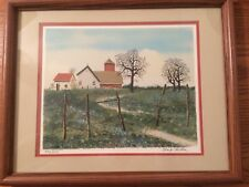 Signed Limited Edition Lithograph - Signed by Artist - Farm/Barn Scene