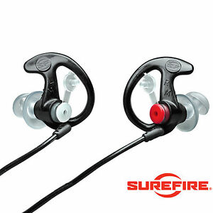 SUREFIRE EARPRO SONIC EP3 Ear Defender Plug MEDIUM BLACK Shoot Hunt -FREE UK P&P