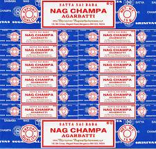 14 Boxes 15 Grams Each Nag Champa Incense Satya Sai Baba AGARBATTI 2018 Series