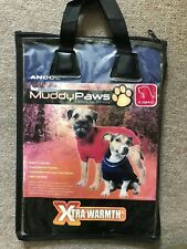 Brand New X-Small Ancol Muddy Paws Red Cable Knit Dog Coat