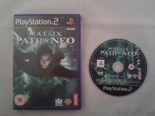 JUEGO PS2 THE MATRIX: PATH OF NEO PLAY STATION 2 PAL