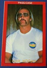 1982 HULK HOGAN JAPANESE GONG WRESTLING ROOKIE STICKER CARD WWF WWE HOF ALL STAR
