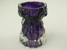 Lila Eisglas Vase Ingrid Glas ~1960/80 - 11,5 cm