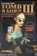Tomb Raider 3 Official Guide book OOP rare japan