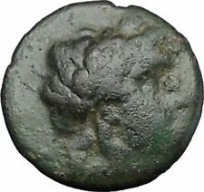 ANTIOCHOS II Theos 261BC Apollo Kithara Lyre Authentic Ancient Greek Coin i49691