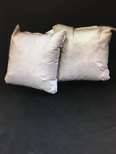 NEW (2) 28 x 28 Square Down Blend Pillow Forms Inserts (GE147) MADE IN USA