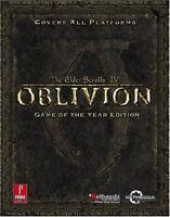 Elder Scrolls IV: Oblivion Game of the Year: Prima Official Game Guide (Prima…