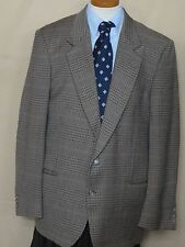 Men's Valentino Uomo Multicolor Houndstooth Wool 2 Button Sport Coat 42R
