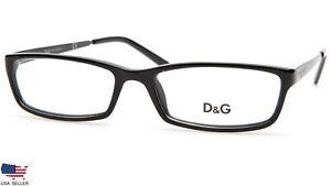 NEW D&G Dolce & Gabbana DG1162 501 BLACK EYEGLASSES GLASSES D&G 1162 53-16-140mm