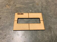 Delano SBC6-6 String Bass routing pickup template-Routing templates