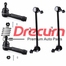 4PC Outer Tie Rod Ends Front Sway Bar Links KIT For 2009- 2016 Dodge Journey