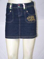 Apple Bottoms Blue 4 Pocket Denim Jean Skirt Girls Youth Size 10