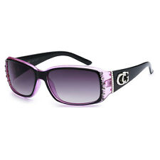 CG Eyewear Nouveau Mode femmes lunettes de soleil - Two Tone Black & Pink CG04