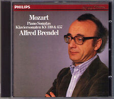 Alfred BRENDEL: MOZART Klaviersonaten K.310 K.457 Philips 1985 CD Piano Sonata