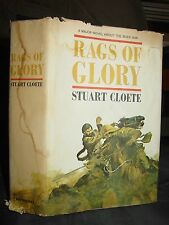 Rags Of Glory, Story of The Boer War, British Soldiers, Africa, Hardcover DJ