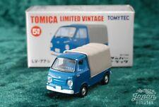 [TOMICA LIMITED VINTAGE LV-77b 1/64] SUBARU SAMBAR TRUCK (Blue)