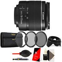 Canon EF-S 18-55mm III f3.5-5.6 Lens + 58mm Filter Kit For Canon DSLR Cameras